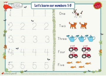Numbers 1 – 10